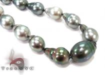 Multi-color Baroque Pearl Ladies Necklace 27355 パールネックレス