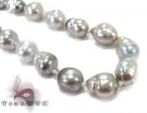 Multi-color Baroque Pearl Ladies Necklace 27357 パールネックレス