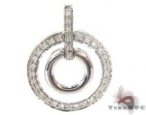 Planet Silver Diamond Pendant Sterling Silver Charms