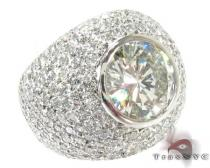 Alpha Ring Mens Diamond Rings
