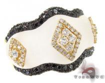 Innocent black&white Diamond Ring ジェムストーン ダイヤモンド リング
