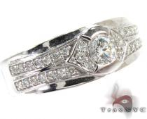 Horizon Band Mens Diamond Rings