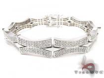 Calm Wave Bracelet メンズ ダイヤモンド ブレスレット