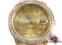Rolex Day-Date Yellow Gold 218238 Diamond Rolex Watch Collection