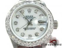 Rolex Datejust Steel 178384 Ladies Rolex Collection
