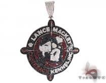 Lance Mackey's Silver CZ Pendant シルバーペンダント