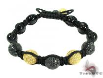 Silver Crystal Rope Bracelet 27797 Rope Bracelets