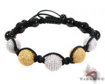 Silver Crystal Rope Bracelet 27798 Rope Bracelets