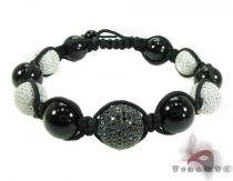 Silver Crystal Rope Bracelet 27799 Rope Bracelets