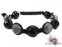 Black Diamond Onyx Rope Bracelet 27800 Rope Bracelets