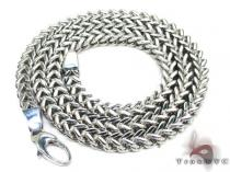 Stainless Steel Franco 24 Inches, 7mm, 68.2 Grams Stainless Steel Chains