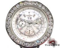 Breitling Bently Diamond Bezel Leather Band Watch ブライトリング Breitling