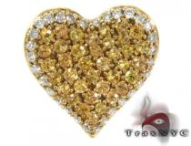 Golden Heart Pendant Diamond Heart Pendants