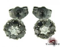 Cluster Two Color Diamond Stud Earrings メンズ ダイヤモンドスタッズイヤリング