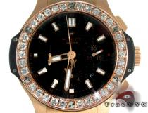 Hublot Classic Fusion Rose Gold Diamonds Watch Hublot ウブロ