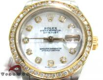 Rolex Datejust Steel and Yellow Gold 179173 Ladies Rolex Collection