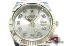 Rolex Datejust II White Gold & Steel 116334