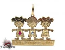 Little Kids Gold Pendant ゴールドチャーム