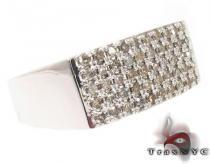Silver Diamond Ring メンズ シルバー リング