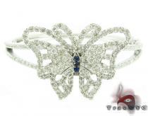 Custom Butterfly Bracelet ダイヤモンド ブレスレット