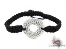 Rope Two Sided Crystal Bracelet Rope Bracelets