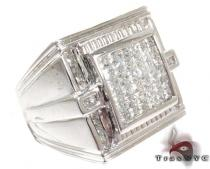 Ice Invisible Diamond Ring 28122 Stone