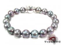 White Gold Pearl Bracelet 28146 パールブレスレット