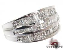 Baguette Diamond Ring 28156 Wedding