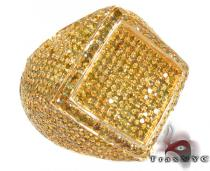 Mens Gold Pinky Phantom Ring Mens Diamond Rings