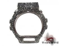 G-Shock Silver Black Diamond Case G-Shock Watches