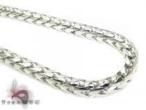 10K Gold Solid Franco Chain 36 Inches, 6mm, 163.6 Grams Gold Chains