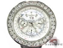 Breitling Bently Diamond Bezel Leather Band Watch ブライトリング Breitling