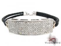 Full Diamond ID braided Bracelet 28461 メンズ ダイヤモンド ブレスレット