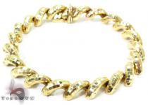 14K Matte Yellow Gold Sain Marco Bracelet ゴールドブレスレット
