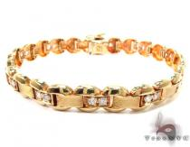 14K Gold Yellow Gold Buckle Bracelet Gold