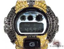 G-Shock Metal-like finish Watch DW-6900HM-2 with Racing Stripes Case G-Shock G-ショック