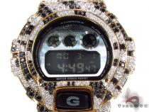 G-Shock Metal-like finish Watch DW-6900HM-2 with Zebra Pattern Case G-Shock