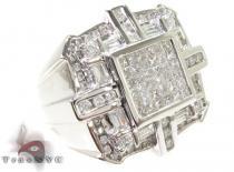 Invisible Diamond Ring 28854 Stone