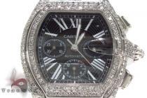 Cartier Roadster XL Chronograph Black Dial Diamond Watch Cartier