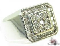 Channel Diamond Ring 28884 Stone