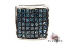 Blue Color Diamond Single Earring 28890 Style