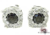 Black Diamond Earrings 28962 Mens Diamond Earrings