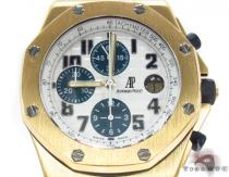 Audemars Piguet Royal Oak Offshore 18K Yellow Gold Watch Audemars Piguet オーデマピゲ