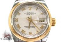 Rolex Datejust Yellow Gold and Steel 79163 ロレックス レディース