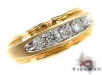 Channel Diamond Ring 29166 Mens Diamond Rings