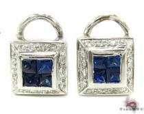 Invisible Diamond Earrings 29181 Stone