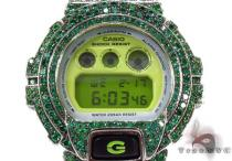 G-Shock Green Color CZ Silver Case Watch DW6900CS-1 G-Shock