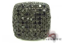 Black Diamond Pillow Single Earring Single Earrings