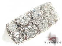 Mens White Gold Opulent Diamond Wedding Ring Mens Diamond Rings