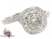 Platium E VS1 Diamond Ring Set ダイヤモンド 婚約 結婚指輪